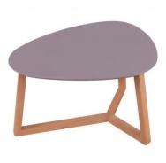 Konferenční stolek Mimzy II - šedá/dub