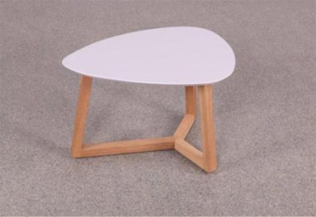 Konferenční stolek Mimzy III - světle šedá/dub