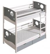 Dětská postel KEWIN poschoďová