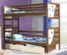 Dětská postel JENDA poschoďová