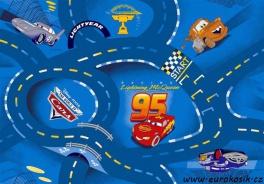 Dětský koberec The World of Cars blue