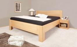 Masivní postel s úložným prostorem K-design 1 - 80/90/100 x 200cm - výběr odstínů
