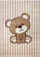 Dětský koberec Baby Medvídek béžový