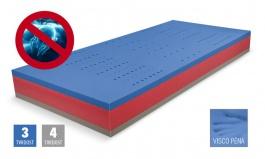 Matrace BLUE Medic Visco - pěnová