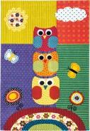 Dětský koberec Sovičky color