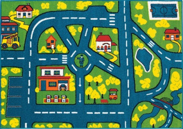 Dětský koberec Jokker cesta