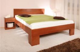 Masivní postel s úložným prostorem Varezza 6B (v.44) - 120/140 x 200cm - výběr odstínů