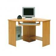 PC stolek, rohový, buk, B3 New