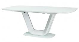 Jídelní stůl ARMANI rozkládací bílý