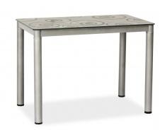 Jídelní stůl DAMAR 80x60 šedý