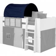 Textilní tunel k vyvýšené posteli Dany - tmavě modrá