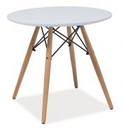 Jídelní stůl kulatý SOHO 80