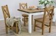 Dřevěný jídelní stůl 80x120cm MES 02 B - výběr moření
