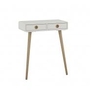 Odkládací stolek Soft  - bílý