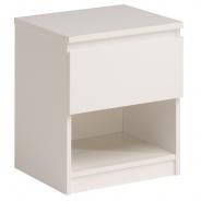 Noční stolek Magic - bílá