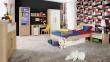 Dětská postel se šuplíkem Nikki 90x200cm - dub