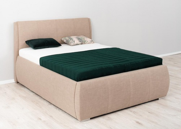 Čalouněná postel AVA Eamon 160x200cm - výběr potahů
