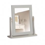 Zrcadlo Baroko - tmavě šedá
