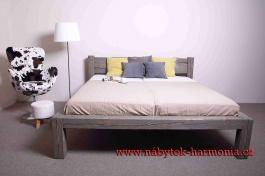 Manželská postel Fabio 180x200cm - výběr odstínů