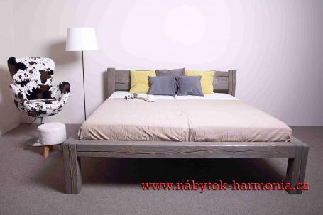masivní postel Fabio