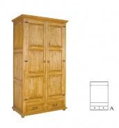 Šatní skříň SZY 01 - selský nábytek