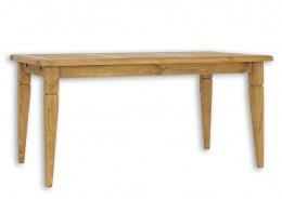 Selský stůl  90x180 MES 03 A s hladkou deskou - výběr moření