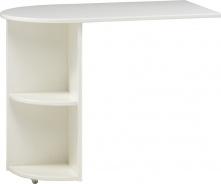 Přídavný stolek Dany - bílá