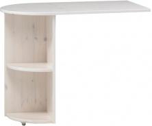 Přídavný stolek Dany - masiv/bílá
