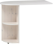 Přídavný stolek k vyvýšené posteli Dany - masiv/bílá