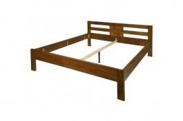 Manželská postel LIBRA - masiv buk