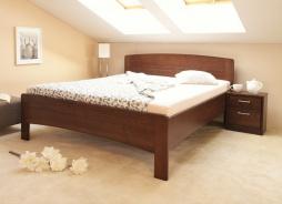 Masivní postel s úložným prostorem Evita 4 - 120/140 x 200cm - výběr odstínů