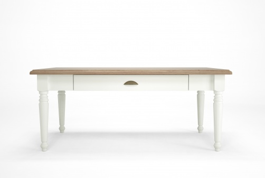 Konferenční stolek bílý rustikální Potage