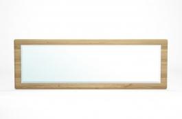 Zrcadlo dubové rustikální 160x55 Potage