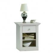 Noční stolek Monako - bílá