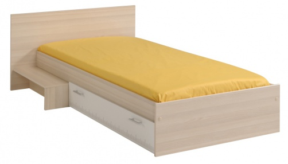 Dětská postel se schůdkem a šuplíkem Charly 90x190cm
