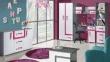 Tv stolek APETTITA 17 antracit/růžová