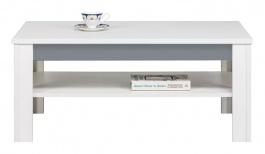 Konferenční stolek Twin - bílá/šedá