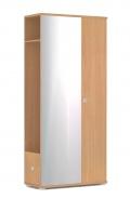 Chodbová šatní skříň REA Vesti 3 - buk