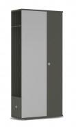 Chodbová šatní skříň REA Vesti 3 - graphite