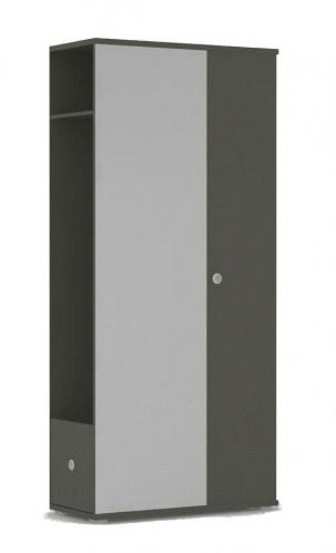 Chodbová skříň REA Vesti 3 - graphite