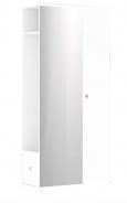 Chodbová šatní skříň REA Vesti 3 - bílá