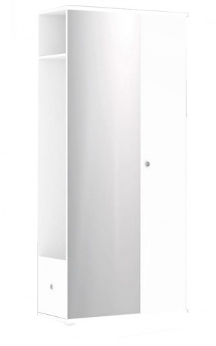 Chodbová skříň REA Vesti 3 - bílá
