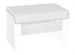 Sedací lavička s výběrem sedáku REA Vesti 1 - bílá