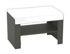 Sedací lavička s výběrem sedáku REA Vesti 1 - graphite