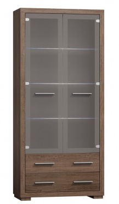 Vitrína 2-dveřová VEGAS V-13 výběr barev