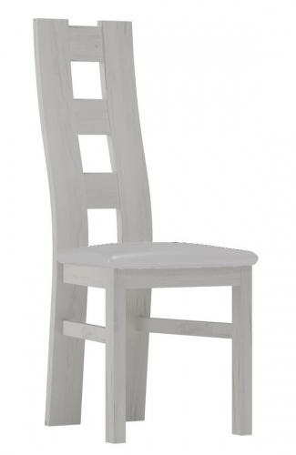 Čalouněná židle TADEÁŠ bílá/Victoria 20