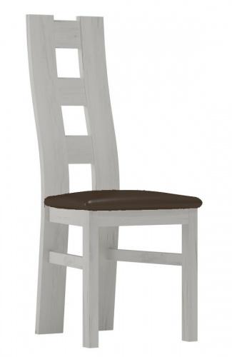 Čalouněná židle TADEÁŠ jasan bílý/Victoria 36