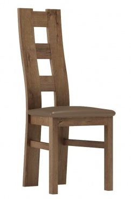 Čalouněná židle TADEÁŠ dub lefkas/Victoria 31