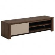 Televizní stolek Diego - ořech/béžová