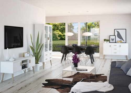 Obývací sestava Ramon - bílá
